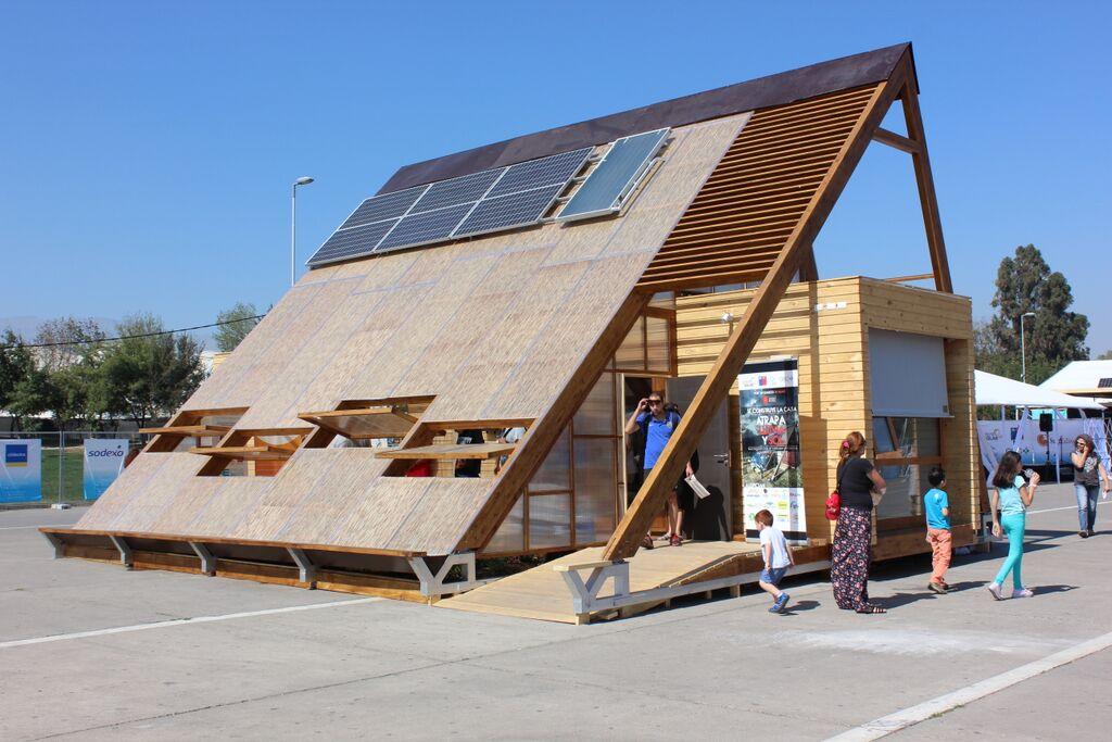 Dise an vivienda autosustentable para contribuir a for Viveros en temuco
