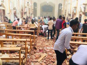 Atentado múltiple en Sri Lanka deja más de 200 heridos